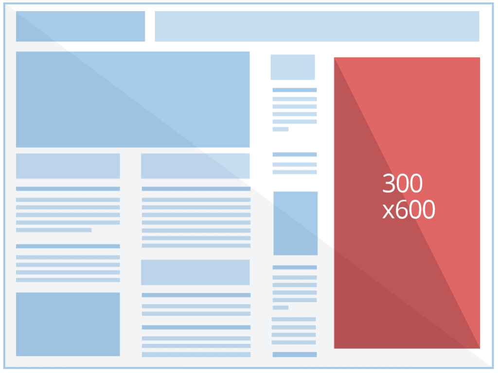 Example of 300x600 Ad Size