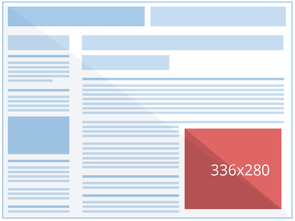 Example of 336x280 Ad Size