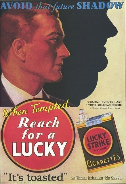 Bizzare Tobacco Advertising 1920s