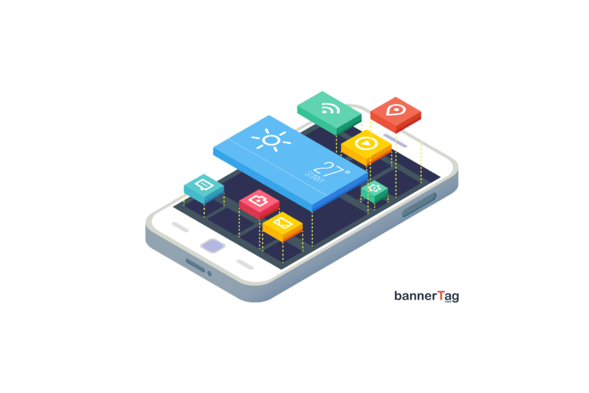 Mobile App Design by bannerTag.com