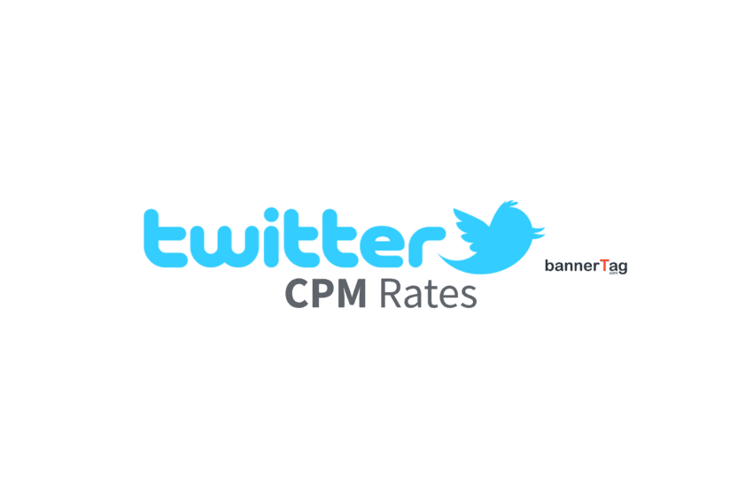 Twitter CPM Rates by bannerTag.com