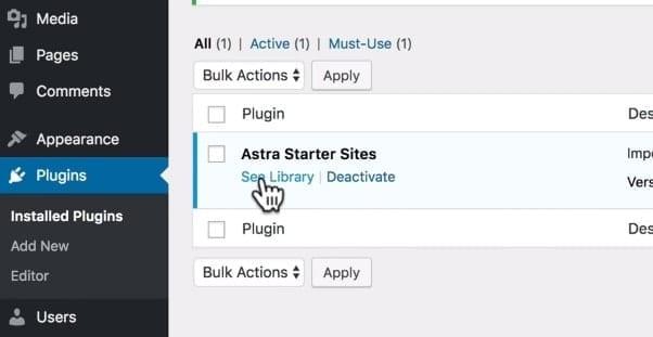 Astra Starter Sites