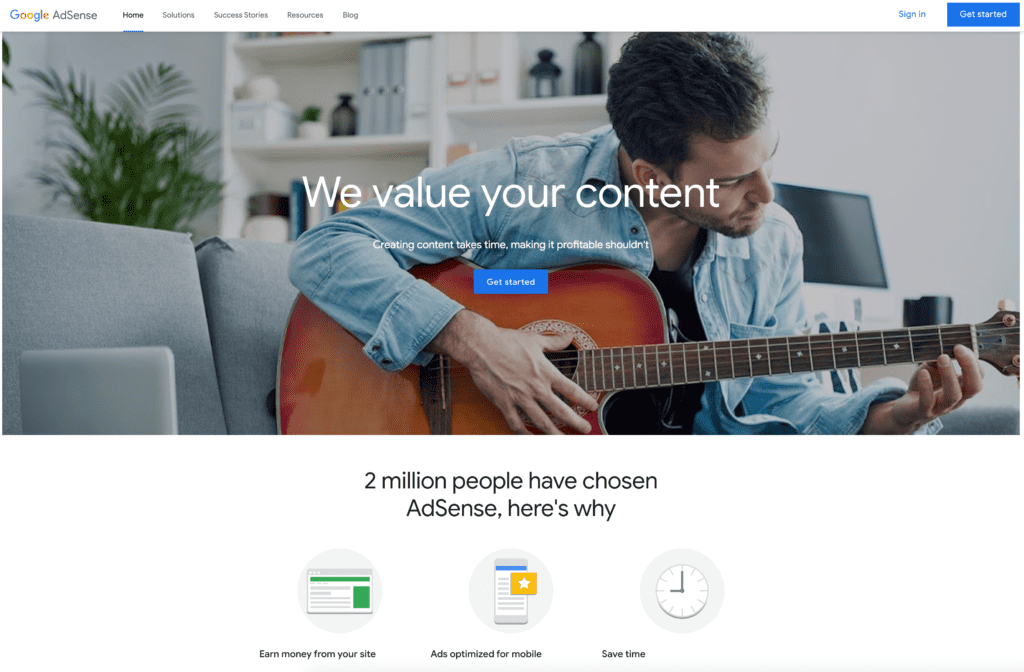 Image 1. Tutorial: how apply for Google adsense by bannertag_com