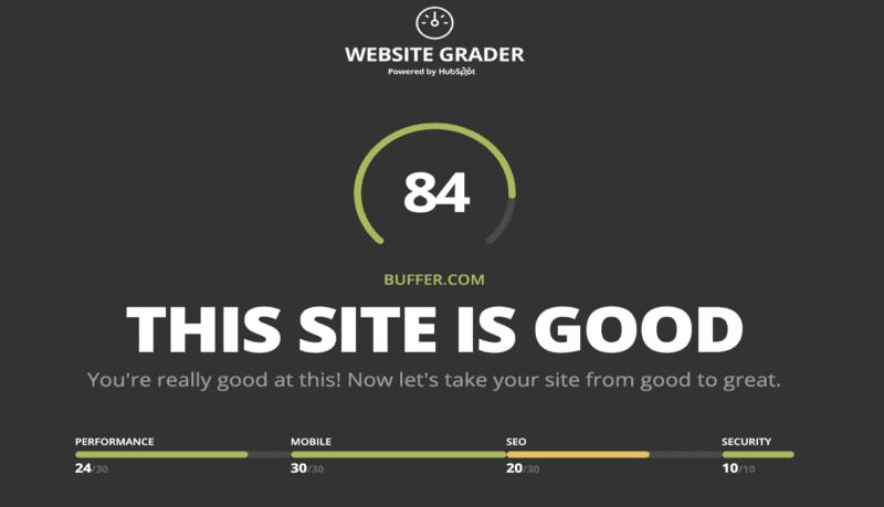 SEO Analysis Tool - Website Grader