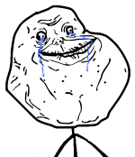 Forever Alone Meme for About Us Page